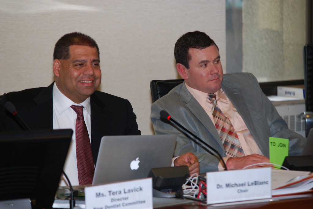 (Left) Dr. Michael LeBlanc, NDC chair, and Dr. Chris Hasty, NDC vice-chair
