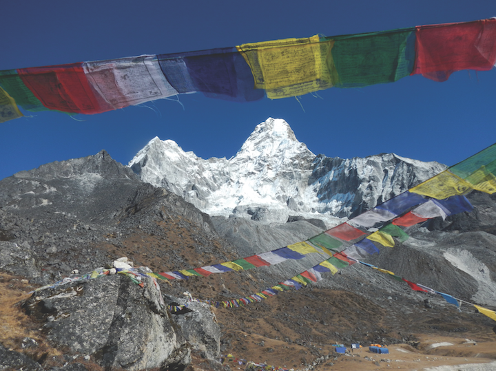Dr. Hollander's favorite mountain in Nepal is Ama Dablam, pictured here.