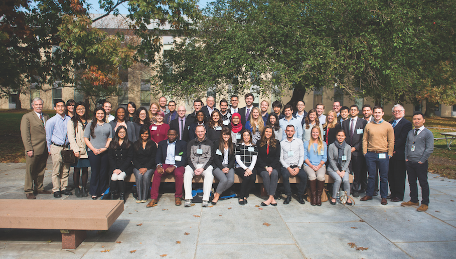 Conference: Forty-two students from across the U.S. and Canada attended the Colgate Dental Students' Conference on Research in late October.