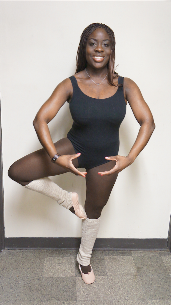 Dr. Tricia Quartey said taking dance classes is one way she copes with worries related to running her dental practice.
