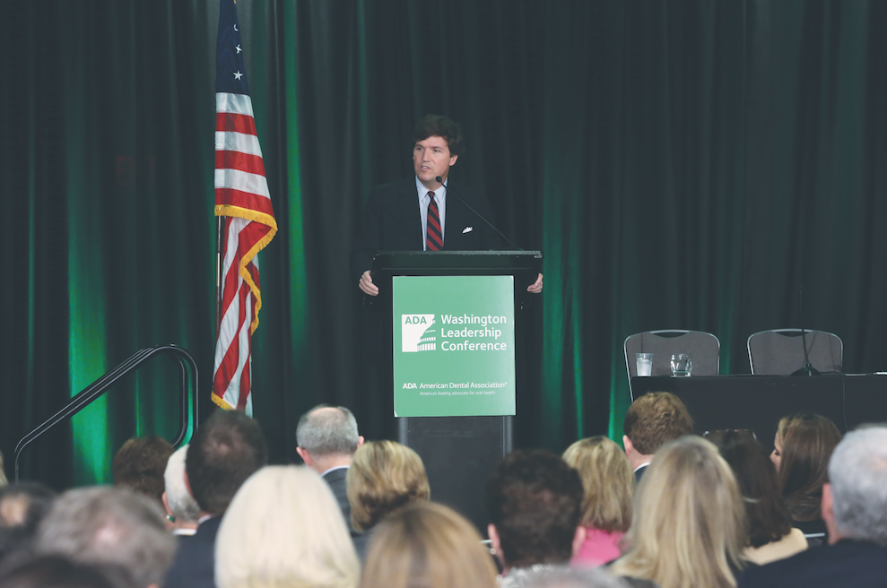 Keynote speaker: Tucker Carlson discusses the 2016 presidential election.