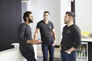Dentologie cofounders: Drs. Suhail Mohiuddin, Oussama Founas and Hany Kurdi.