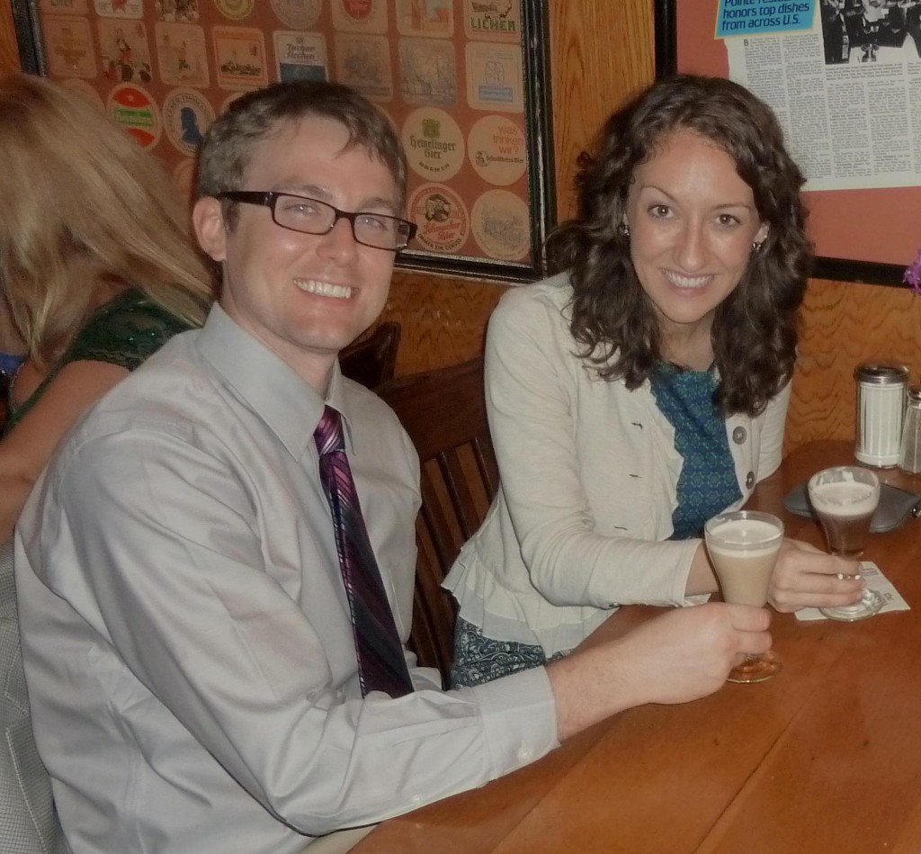 Dr. Colleen Greene and her husband, Jonathan Greene, visit a coffee shop in San Francisco during ADA 2012. The couple plans on exploring Denver when she attends ADA 2016 and the New Dentist Conference in October.