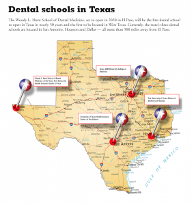 texas dental school graphic